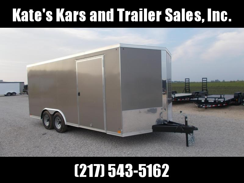 NEW** Car Hauler 8.5X18 2020 Cross Trailers Enclosed Cargo Trailer