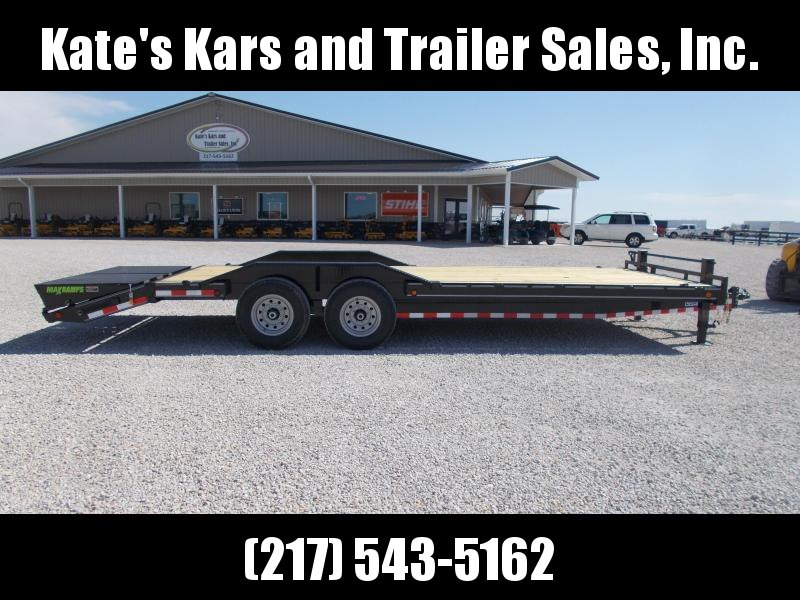 "DRIVE OVER FENDERS Load Trail 102""X24' Equipment Trailer Flatbed 14K LB"