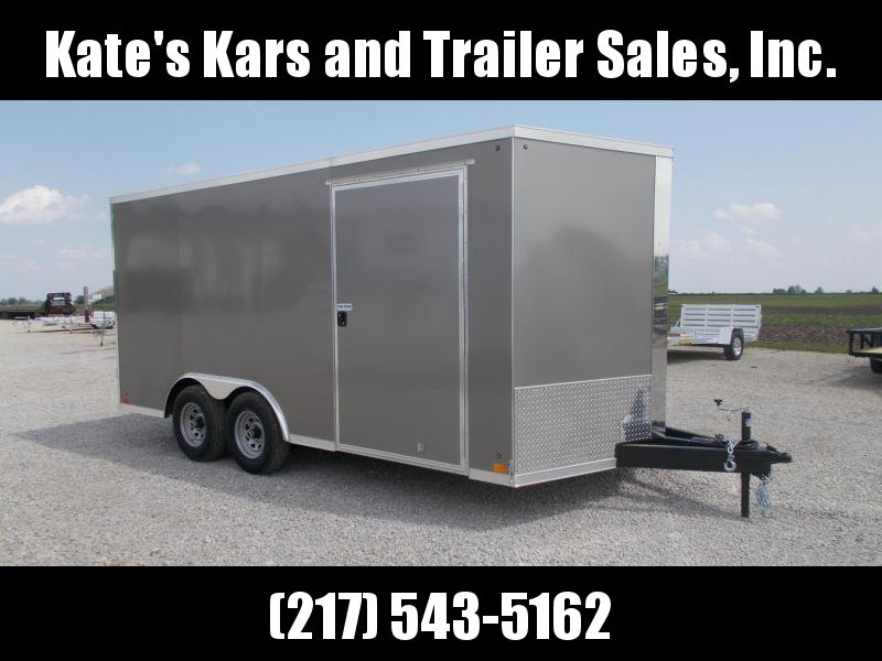 HEAVY DUTY!! Cross  8.5X16'  9990 LB GVWR Enclosed Cargo Trailer