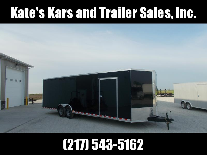*NEW** Cross 8.5X28' HD 12K LB Car hauler Enclosed Cargo Trailer