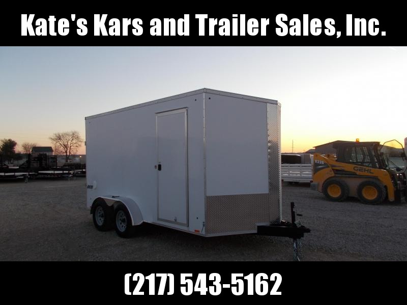 2020 Pace American 7X14' Extra Tall Screwless Sides Enclosed Cargo Trailer