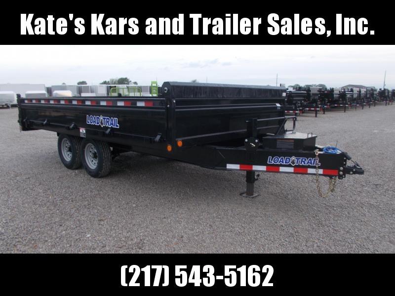 *NEW* Load Trail 96X16' Dump Trailer DZ14 w/ FOLD DOWN SIDES