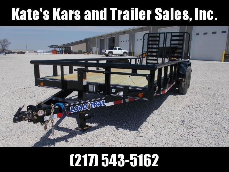 *NEW* PIPETOP!! Load Trail CS14 Carhauler 83 x 20 Car / Racing Trailer