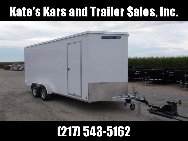 *NEW* Aluma 7X18 Aluminum Enclosed Cargo Trailer