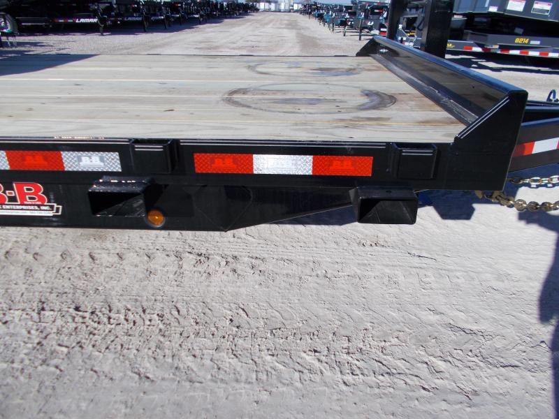 *NEW* HEAVY DUTY Behnke B-B 83X24' HD Tube Tilt 20K LB GVWR Equipment Trailer