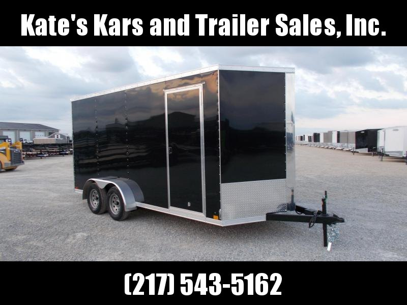 2019 Cross Trailers 7X16 TA BP 12 IN Extra Height Enclosed Cargo Trailer