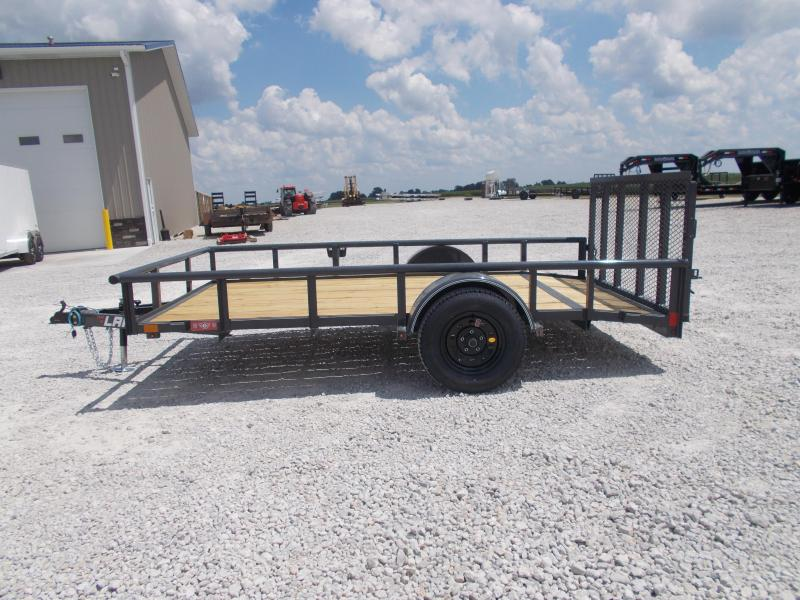 2019 Lamar 77x12 2' dovetail 3' spring assisted gate