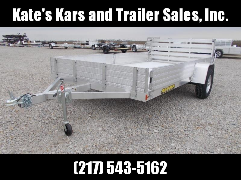 *NEW* Aluma 8112SR ATV Side Load 12' Aluminum Utility Trailer