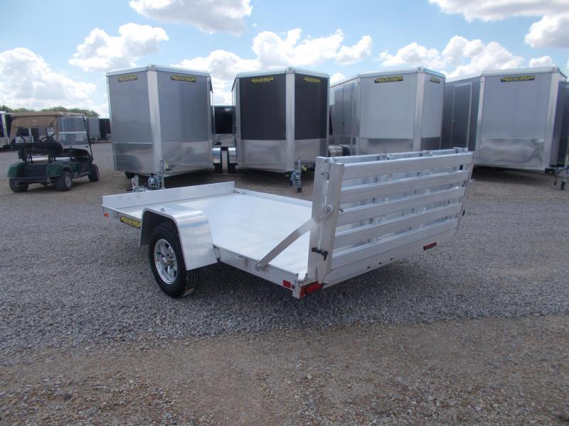 *NEW* 7210BT Aluma 10' All Aluminum Utility Trailer with Bifold Tailgate
