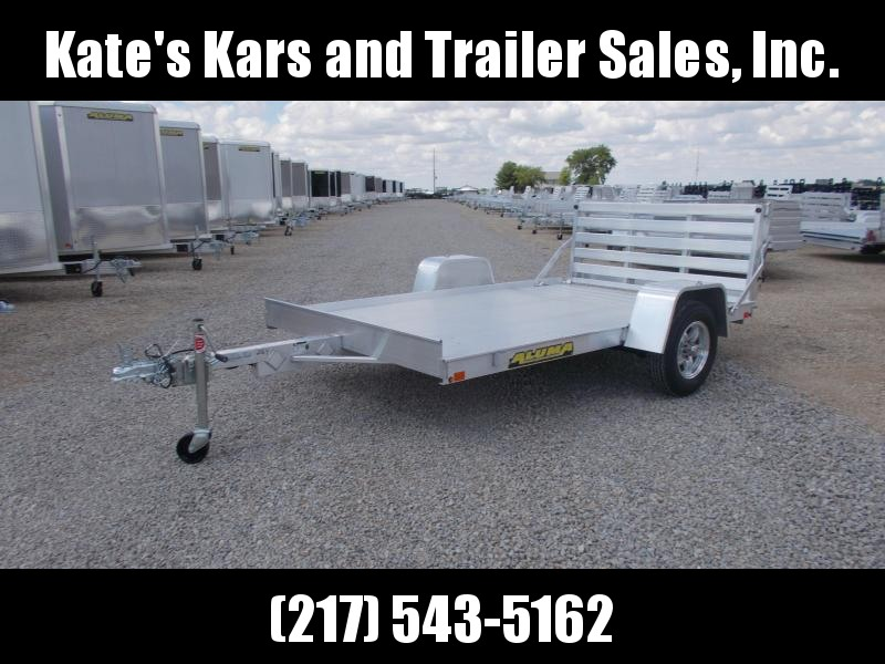*NEW* 7210BT Aluma 10' All Aluminum Utility Trailer with Bifold Tailgate