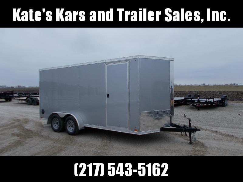 *NEW* Cross 7x16' Extra Tall Enclosed Cargo Trailer