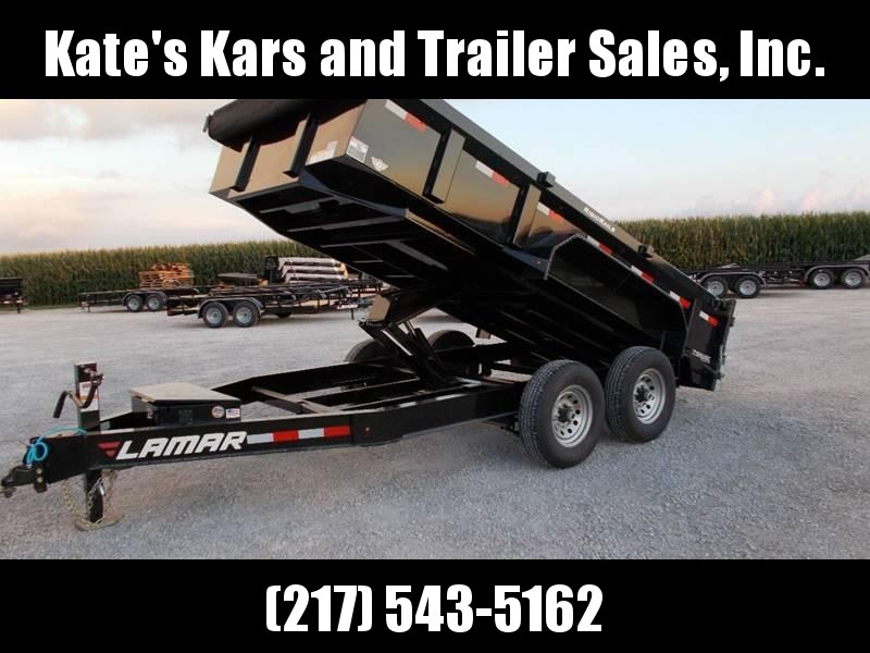 *NEW* Lamar 83X14' Low Pro 7GA Floor Dump Trailer