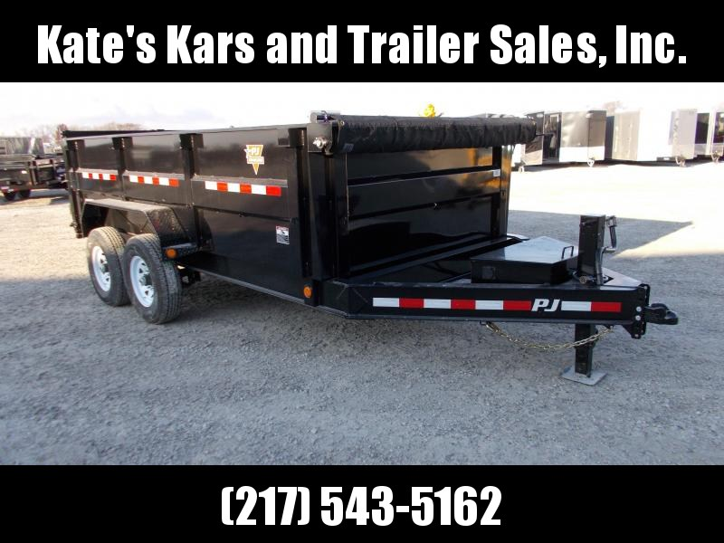 "*NEW* PJ 83X14' Low Pro 36"" Tall High Side Dump Trailer"
