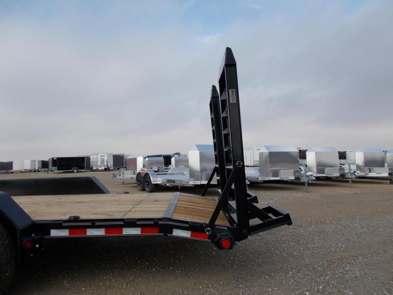 Load Trail 83x22' Trailer Wide Ramp 14K LB GVWR
