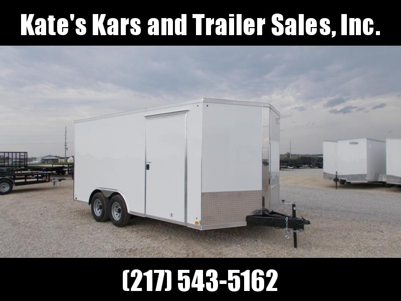 *NEW* Cross 8.5X16' Cargo 9990 LB GVWR Enclosed Trailer Car hauler