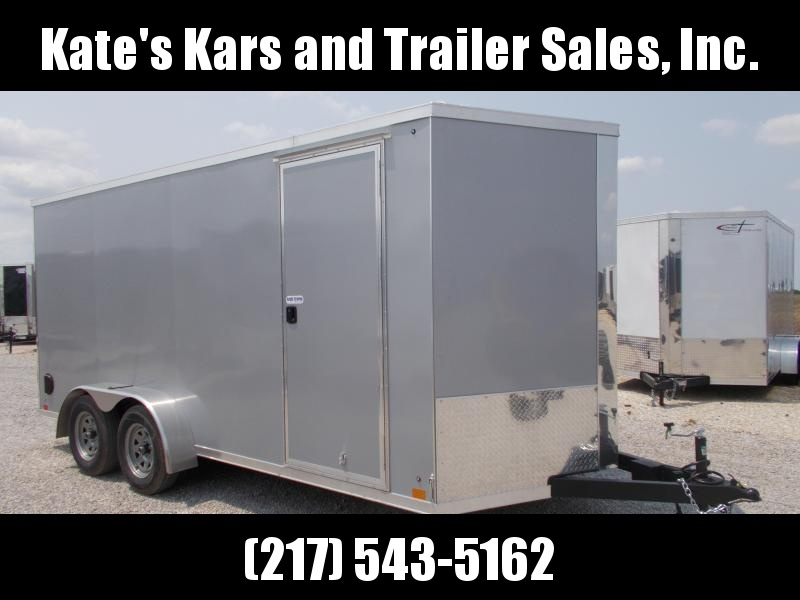 NEW!!! HD Cross Trailers 7X16' Extra Height Enclosed Cargo Trailer
