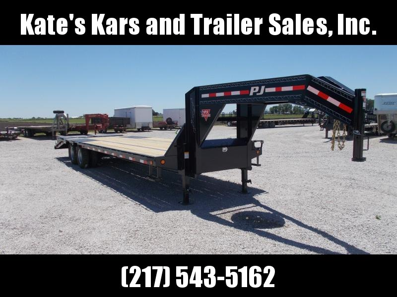 BEST DEAL!! PJ Trailers 102x30' Low Pro Gooseneck Flatbed Trailer 25K LB GVWR