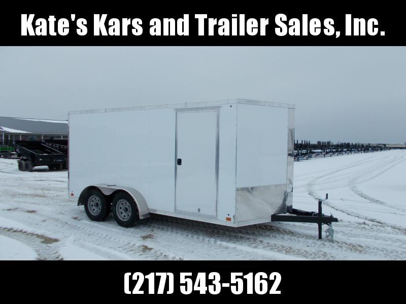 *NEW* Cross 7x14' HEAVY DUTY Enclosed Cargo Trailer