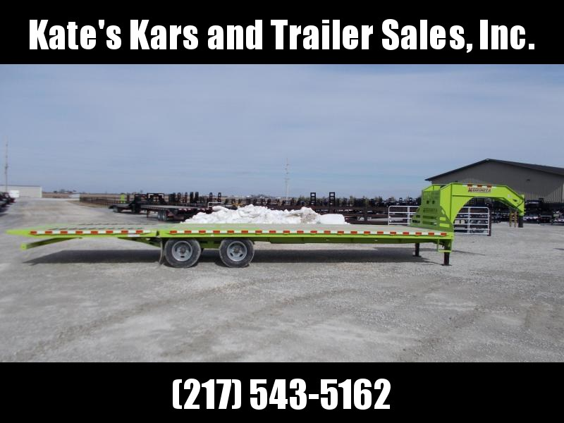 *NEW!!! 32' Midsota FB32' GN Hydraulic Dovetail Gooseneck Flatbed Trailer Engineered I Beam in Ashburn, VA