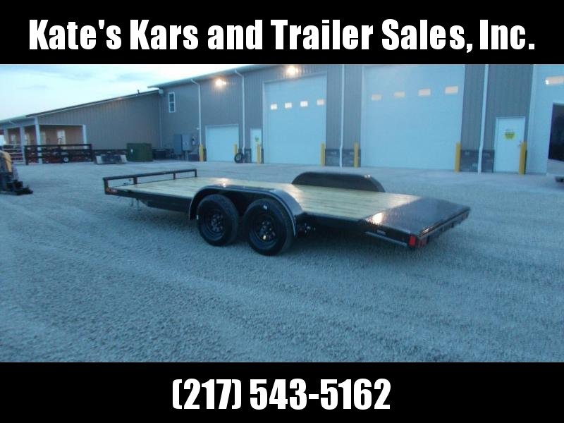 2019 Lamar Trailers 83X18' Car Hauler Channel Frame Car / Racing Trailer