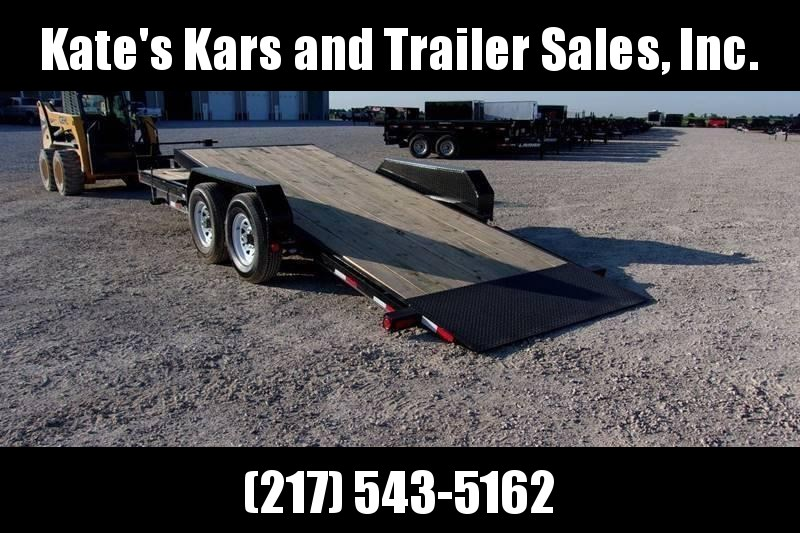NEW Discounted  PJ 20' Tilt Equipment Hauler Trailer