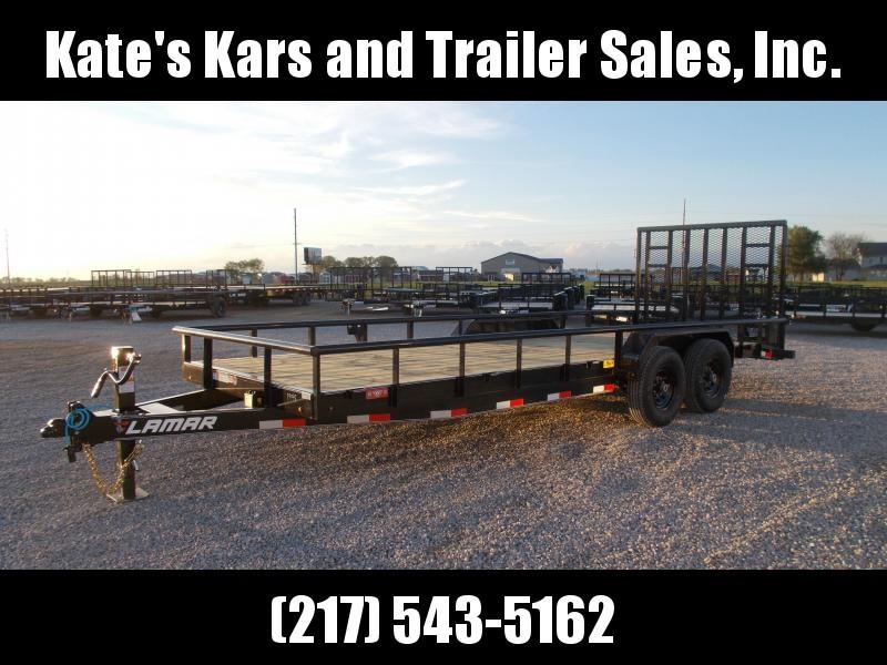*NEW* PIPETOP Lamar 22' Landscape trailer 14K LB Equipment Trailer