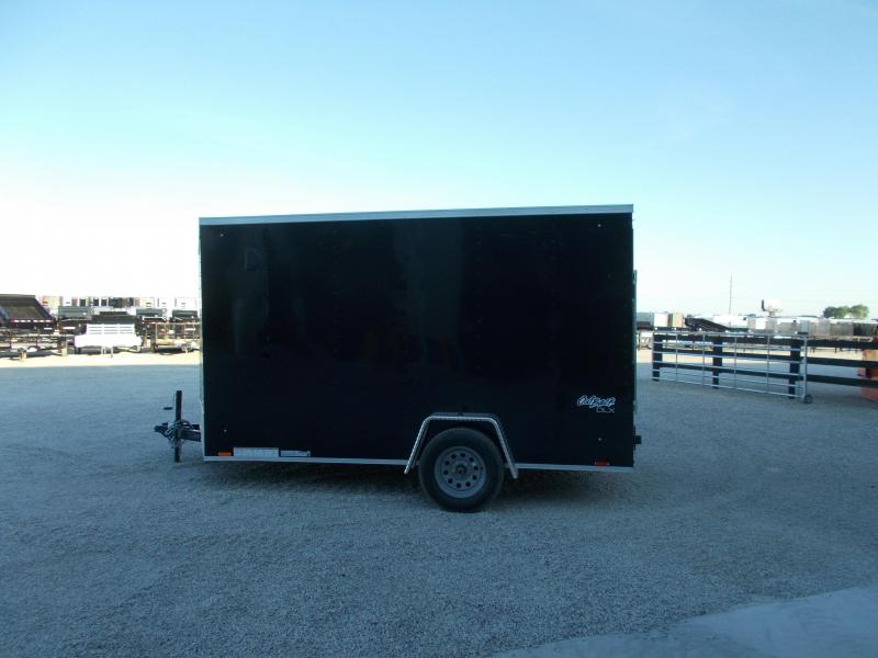 *NEW* Pace Single Axle 7X12' Extra Tall Enclosed Cargo Trailer