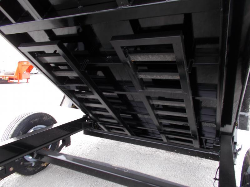 BEST DEAL!!! PJ Trailers 83X14' Low Pro dump 14000 LB GVWR