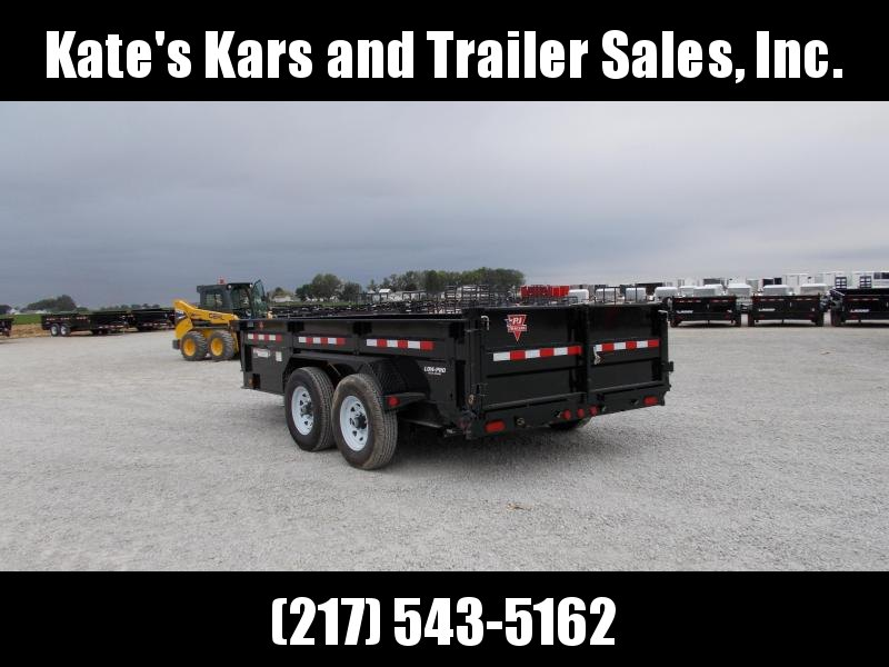 BEST DEAL!!! PJ Trailers 83X14' Low Pro dump 14000 LB GVWR