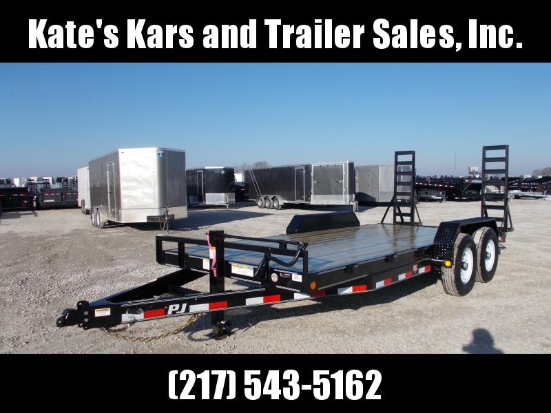 *NEW* PJ Trailers 83X18'  Flatbed Equipment Trailer 14K LB GVWR