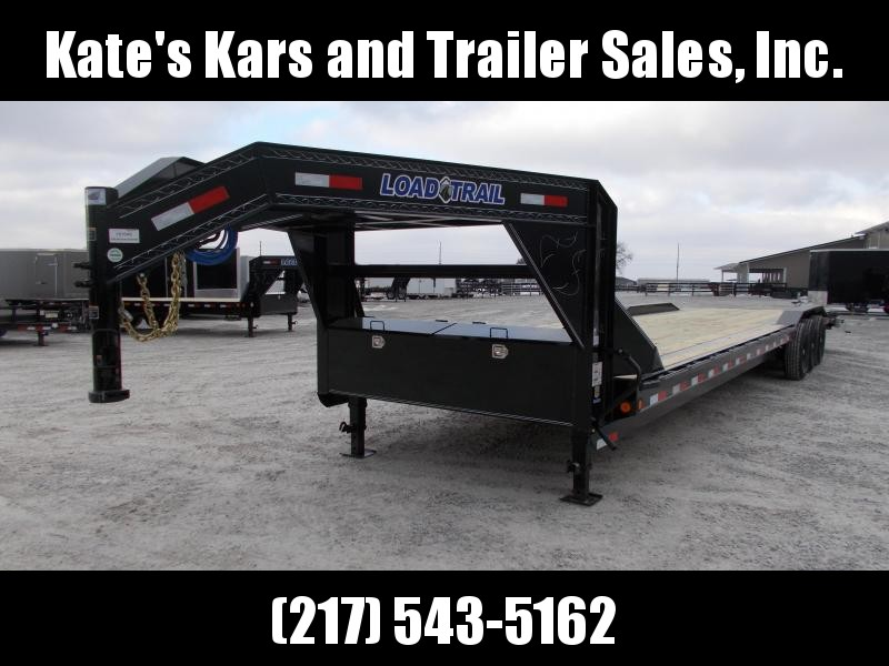 2019 Load Trail 36 Gooseneck buggy hauler Flatbed Trailer
