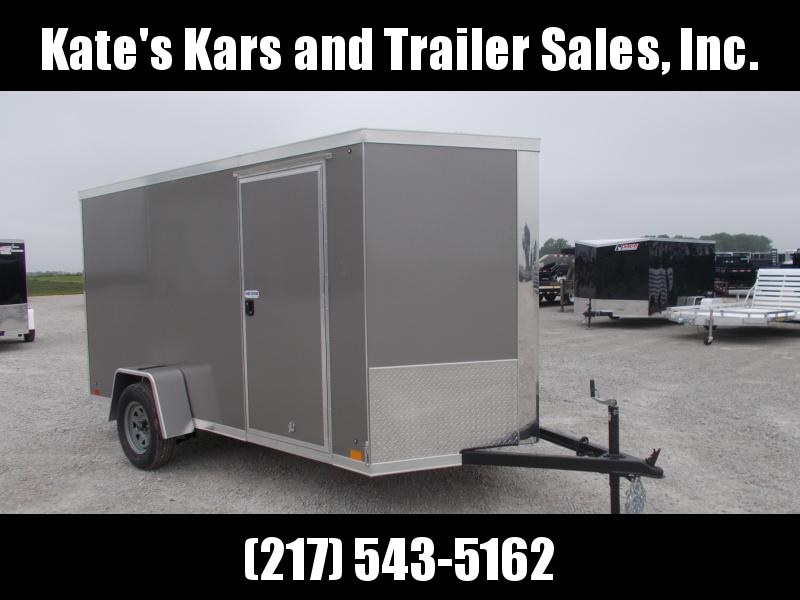 HIGH QUALITY 2020 Cross Trailers 6X12 Screwless Sides Enclosed Cargo Trailer