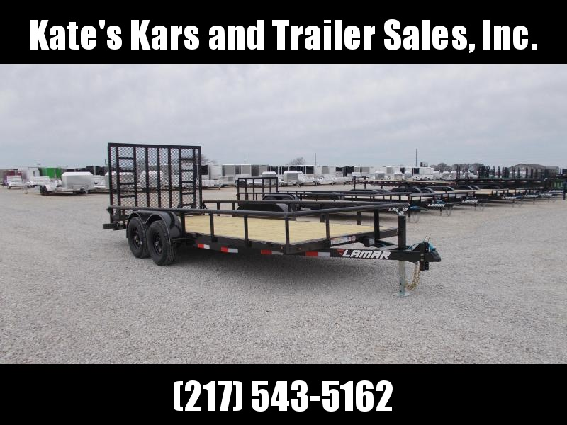 awesome!! Lamar Trailers 18' HD Equipment Utility Trailer