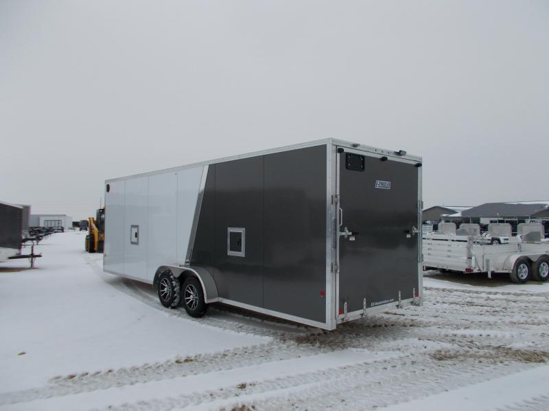 *NEW* EZ Hauler 7X24 SnowMobile Sled Trailer 24+5