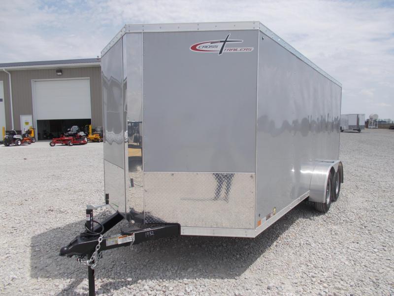 *NEW* Cross 7X16' Heavy Duty Enclosed Cargo Trailer