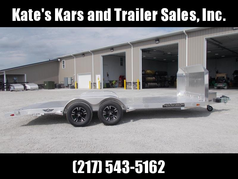 *NEW* Aluma 8218B Anniversary Edition Aluminum Car Trailer 18' Flatbed