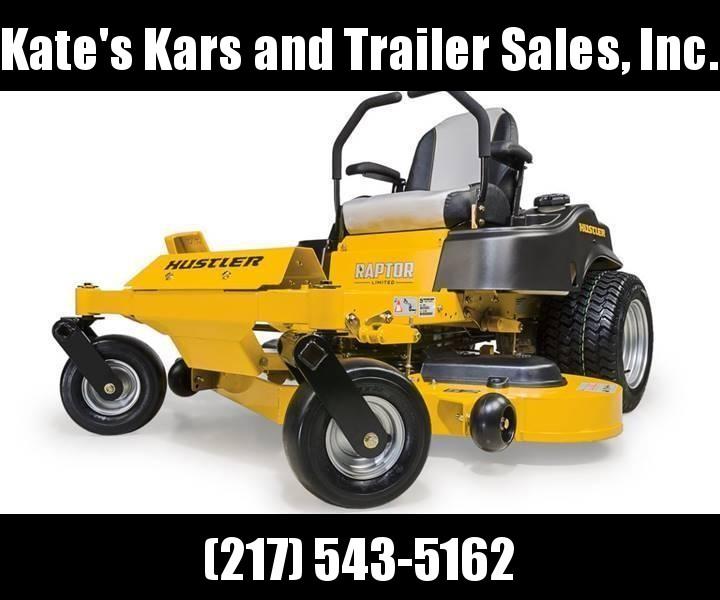 "2019 Hustler Raptor Limited 52"" zero turn mower Lawn mower for sale in central Illinois"