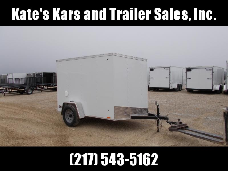 *NEW* Cargo Express 5X8' Enclosed cargo Trailer ramp door V nose