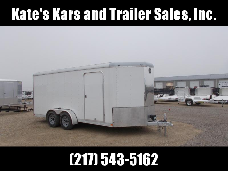 2015 Wells Cargo 7X16 Extra Tall CW Enclosed Cargo Trailer
