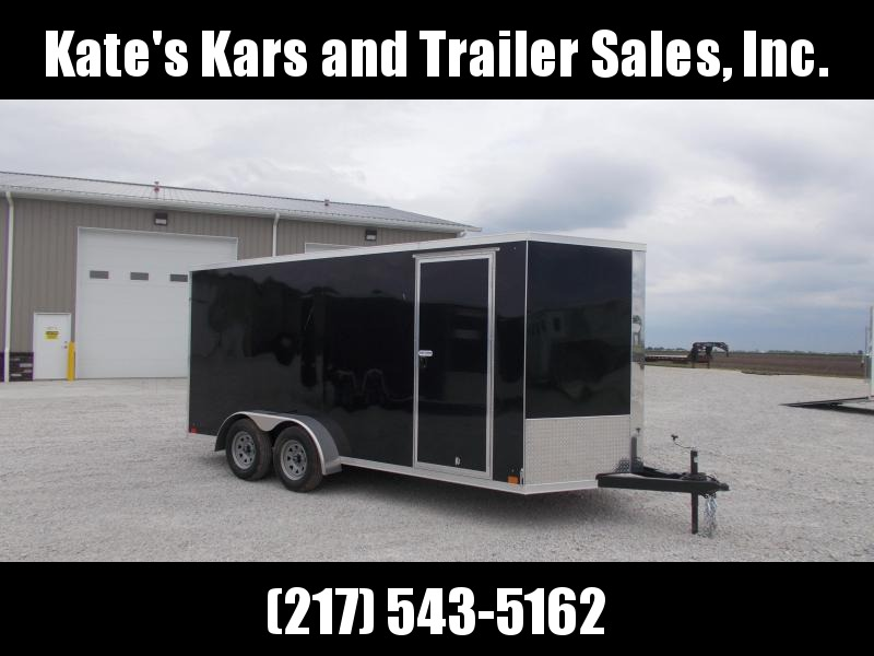 *WELL BUILT* Cross 7X16' Screwless Sides Extra Tall 7K GVWR Enclosed Cargo Trailer