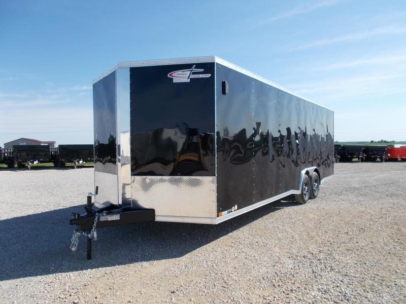 *NEW* Cross 8.5X24' Heavy Duty Enclosed Cargo Trailer 9990 LB GVWR