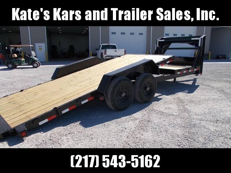 *NEW* Load Trail 22' Gooseneck Tilt Trailer Equipment 16+6