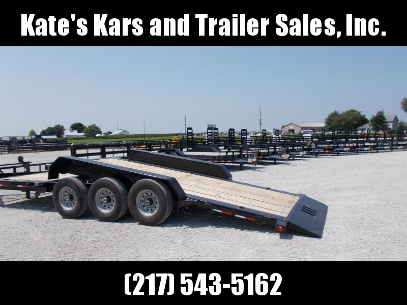 TRIPLE AXLE 2019 Load Trail 83x22' Tiltbed Flatbed Trailer 21K LB GVWR