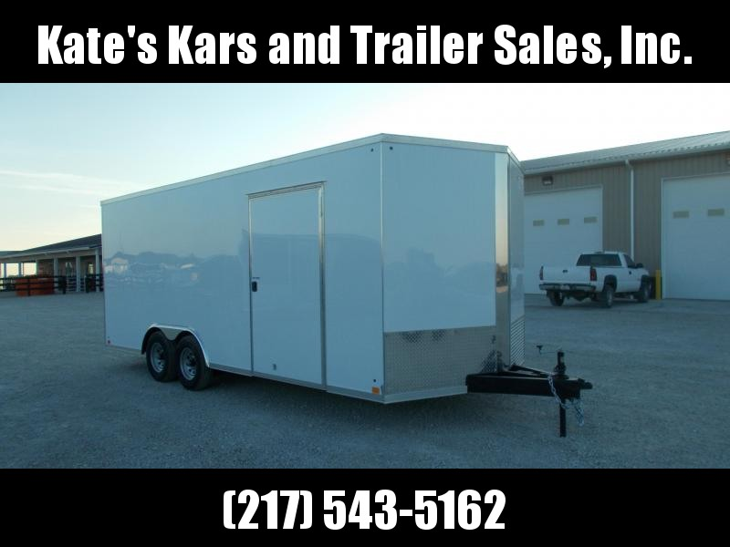*NEW!! Heavy Duty Cross Trailers 8.5X20' 9990 LB Extra Height Enclosed Cargo Trailer