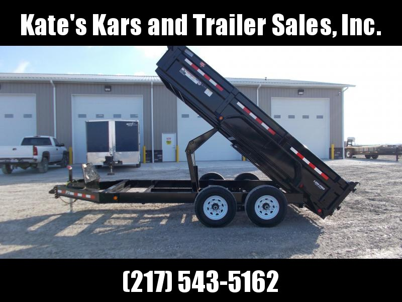 *NEW* PJ 83x14' LOW PRO Dump Trailer 14K LB GVWR