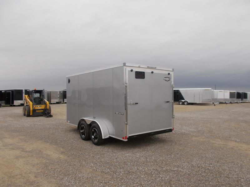 *NEW* Impact  7X14' Covered Trailer Enclosed Cargo Trailer
