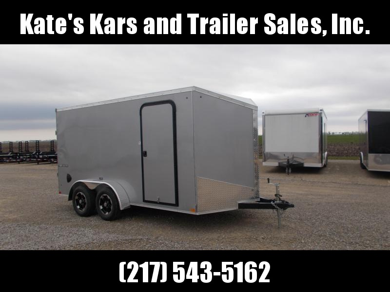 2020 Impact Trailers 7X14 Covered Trailer Enclosed Cargo Trailer