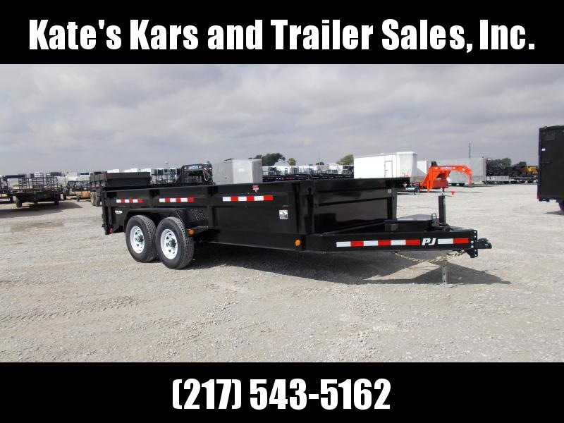 *NEW* PJ 83X16' Low Pro Dump Trailer