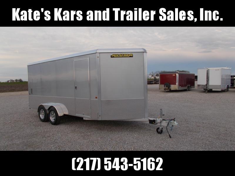 Extra Tall 7X16' Aluminum Aluma AE716TAM Enclosed Cargo Trailer in Ashburn, VA