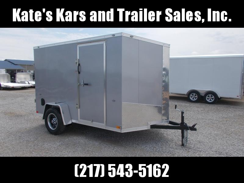 *NEW** 6X10' Screwless Sides Formula Trailers Enclosed Cargo Trailer
